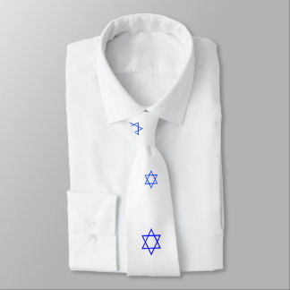 Opal01 Star Of David Necktie