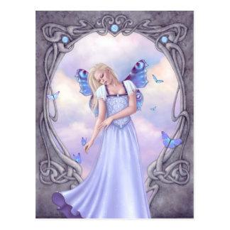Opal Birthstone Fairy Postcard