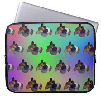 Opal Guinea Pig Pattern, 15 Inch Laptop Sleeve