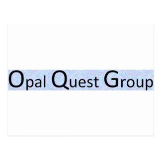 Opal Quest Group Postcard