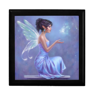 Opalite Fairy Keepsake Box