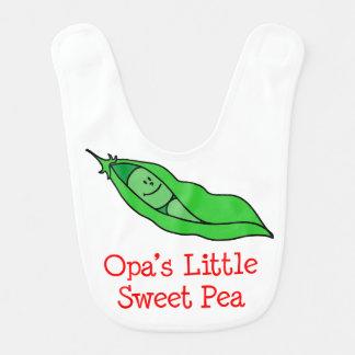 Opa's Little Sweet Pea Bib