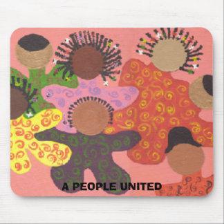 O'Peeps, A PEOPLE UNITED Mouse Pad