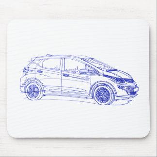 Opel Ampera E 2017 Mouse Pad