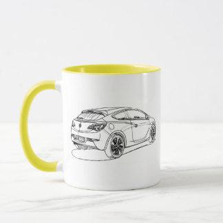 Opel Astra GTC 2012 Mug