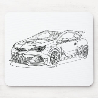 Opel AstraOPC Extreme 2015 Mouse Pad