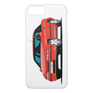 Opel Calibra red front iPhone 7 Case