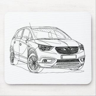 Opel Crossland X 2017 Mouse Pad
