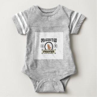 open access prayer baby bodysuit