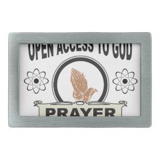 open access prayer belt buckles