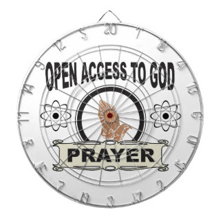 open access prayer dartboard