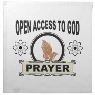 open access prayer napkin