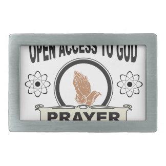 open access to god belt buckles