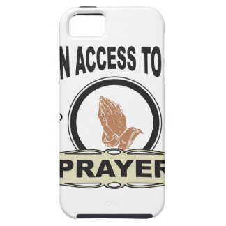 open access to god iPhone 5 cover