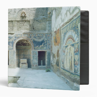 Open air triclinium of the House of Neptune 3 Ring Binders