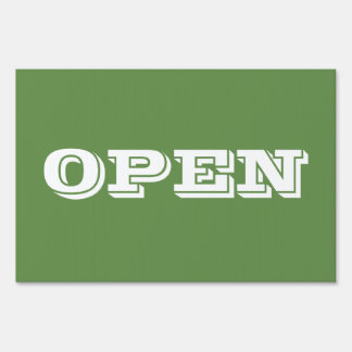 Open and Closed Sign for Anyone