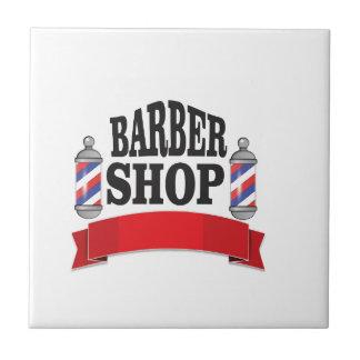 open barber shop art tiles