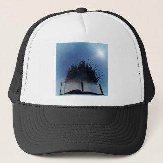 Open Book Forest Trucker Hat