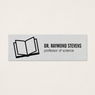 Open Book II Mini Business Card