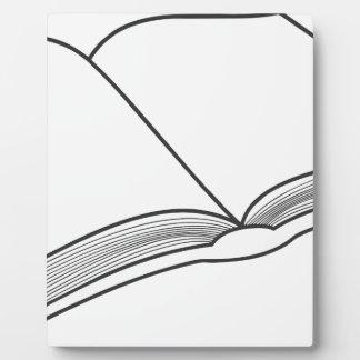 Open Book Plaque