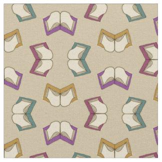 Open Books Pattern Fabric