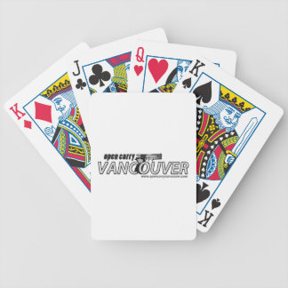 Open Carry Vancouver Playing Cards