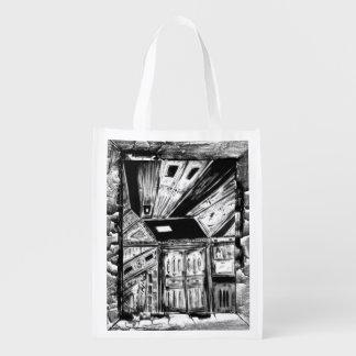 Open Doors Reusable Grocery Bag
