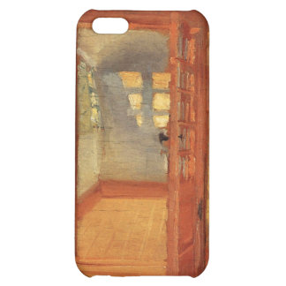 Open doors sunny impressionist art interior Ancher iPhone 5C Cover