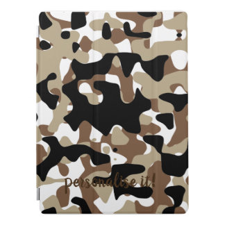Open-field snow camouflage iPad pro cover