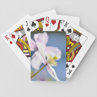 Open Flower Playing Cards