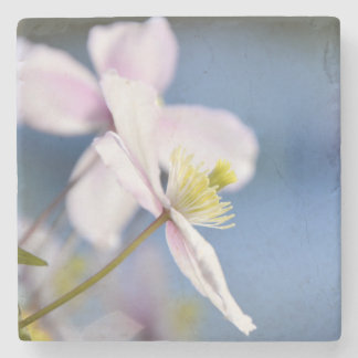 Open Flower Stone Coaster