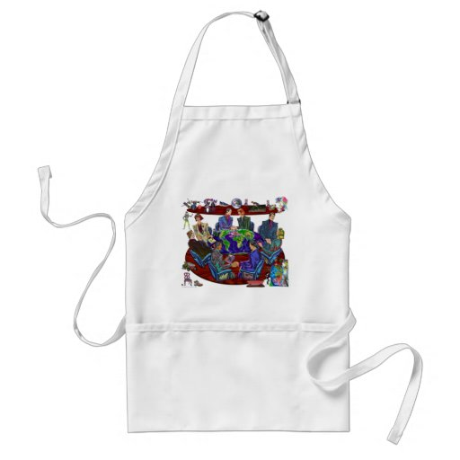 Open for business apron