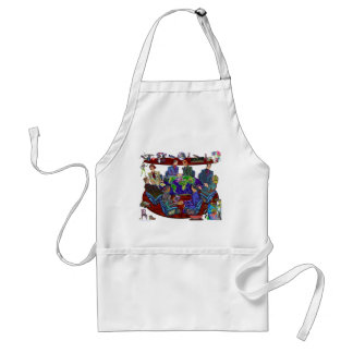 Open for business standard apron