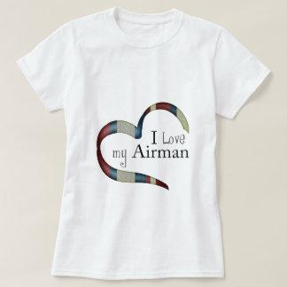 Open Heart : I love my airman T-Shirt