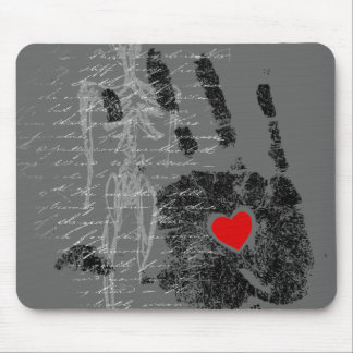 OPEN HEART MOUSE PAD