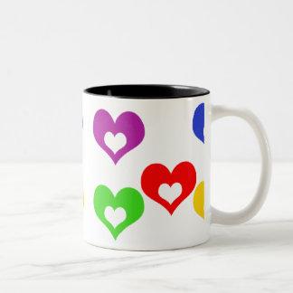 Open heart_slipOn_upper_v2 Two-Tone Coffee Mug
