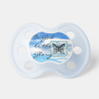 Open Heaven To God be the Glory Pacifier