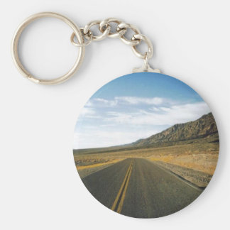 Open Highway- Death Valley Keychain