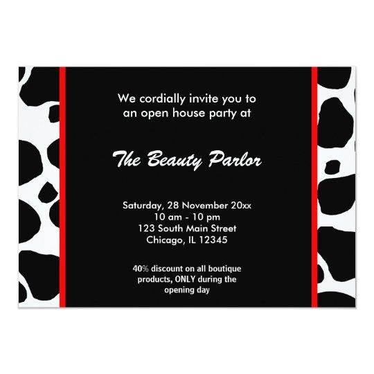 Open house boutique celebration card zazzle open house boutique celebration card stopboris Images