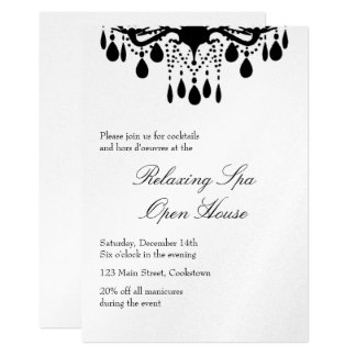 Open House Silver Grand Ballroom Card