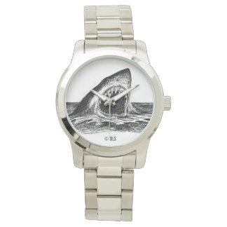 OPEN JAWS Great White Shark eWatch Watch