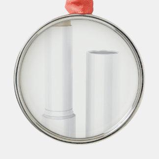 Open lip balm stick metal ornament