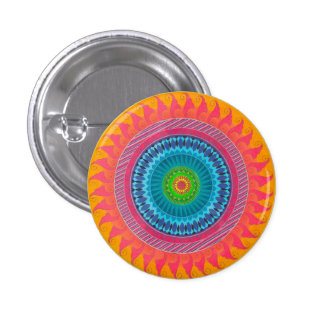 open mind mandala button