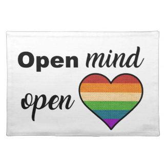 Open Mind, Open Heart Placemat