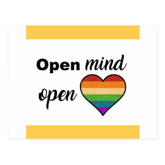 Open Mind, Open Heart Postcard