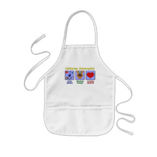 Open Minds UU Apron with Symbols