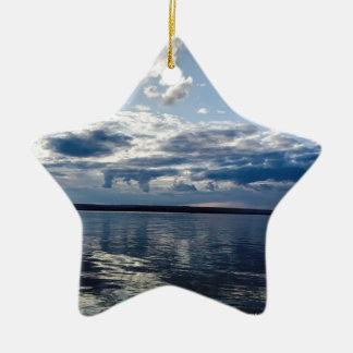 Open Ocean Ceramic Ornament