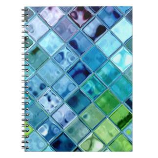 Open Ocean Fresh Vibrant original design Spiral Notebook