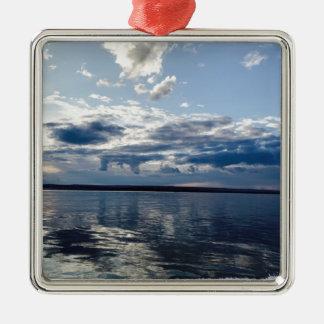 Open Ocean Metal Ornament
