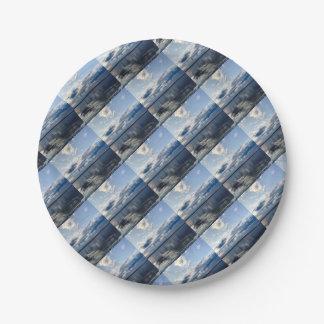 Open Ocean Paper Plate